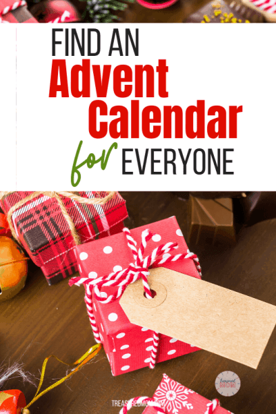 little christmas boxes and tags for advent calendars for everyone in family