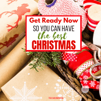 Get Ready for Christmas Early - Prepare Ahead of Time