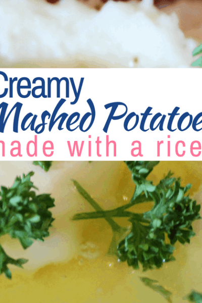 How to Make Creamy Mashed Potatoes with a Ricer