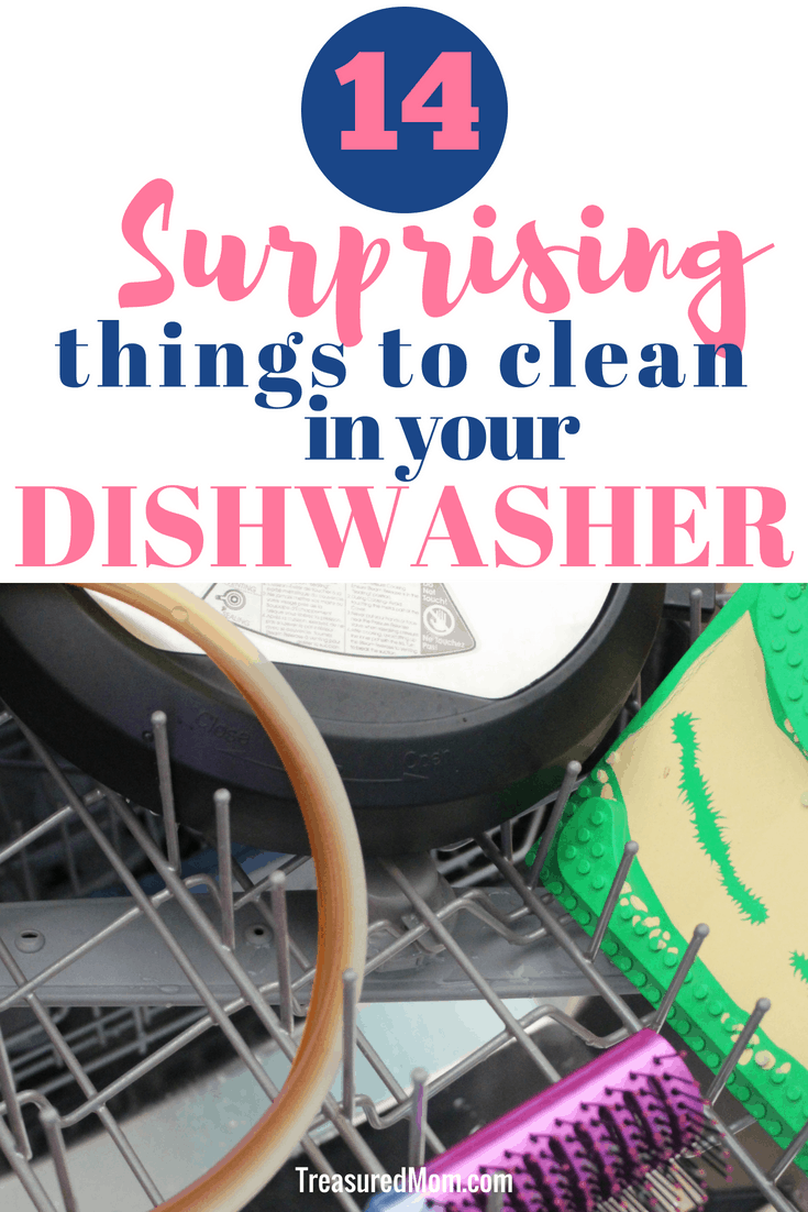 Save a ton of time by cleaning random things in your dishwasher. These are some creative cleaning hacks to try out.  Use the tips for items you can clean in your dishwasher.  When you want to clean your house fast try these out.
