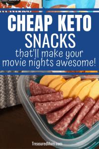 Cheap Keto Movie Theater Snacks