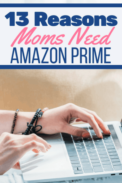 Mom at Computer for Is Amazon Prime Worth it for Moms Article.