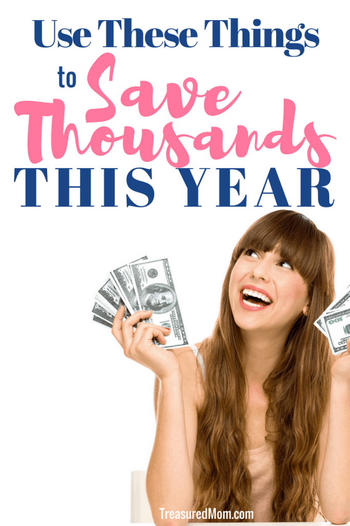 girl holding money for Products to save Thousands this year