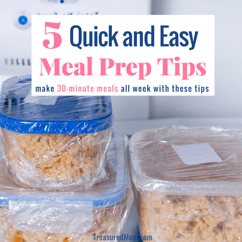 Quick and easy Meal Prep Ideas post title