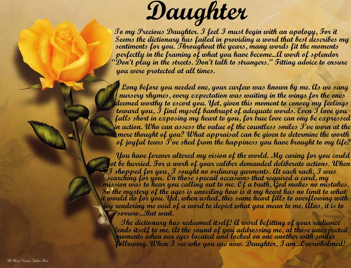 daughter mother relationship poems for kids