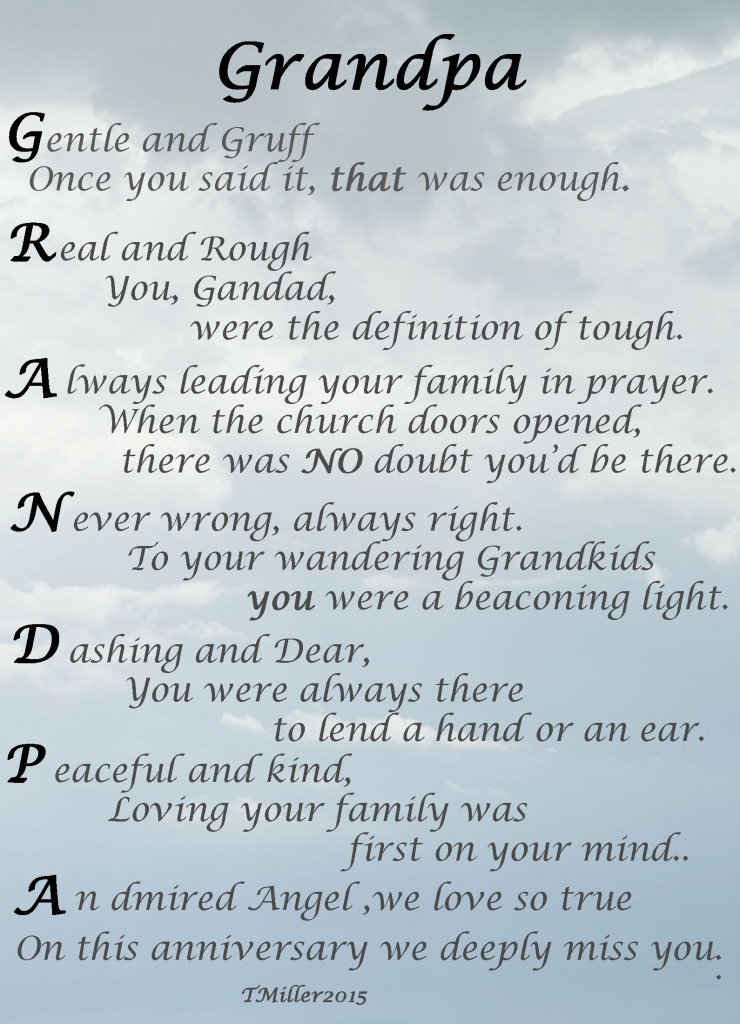 Your About Grandpa Losing Quotes