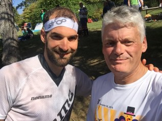 Thierry Gueorgiou and his worst nightmare after the US Champs near Katonah, NY