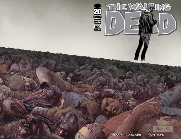 PRE-ORDER SPECIAL: Walking Dead #100