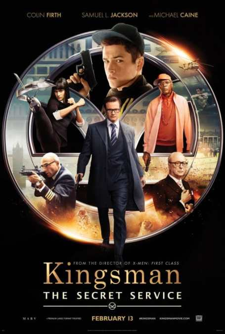 Midnight Movie #2: Kingsman: The Secret Service (Thurs, 12 February)