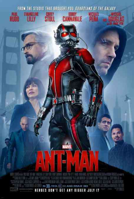 MIDNIGHT MOVIE #4! Ant-Man! THURS 16 July @ 11p
