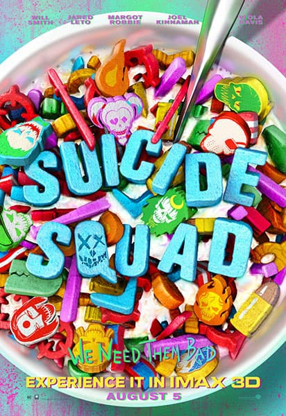 MIDNIGHT MOVIE! Suicide Squad! THURS 4 Aug @ 10.30P AMC NewPark