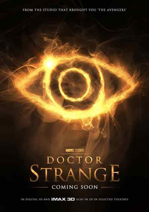 MIDNIGHT MOVIE! Doctor Strange! THURS 3 Nov @ 10.30P AMC NewPark