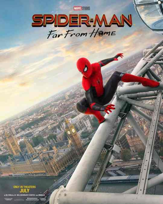Midnight Movie! Spider-Man Far From Home ! TUESDAY 2nd July @ 12A