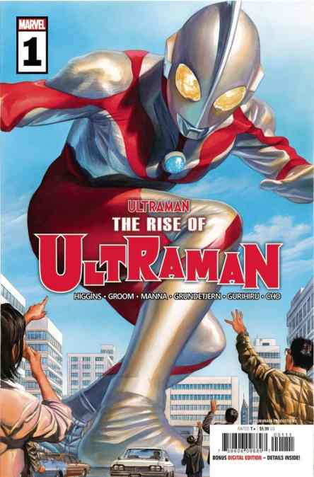 NEW THIS WEEK: THE RISE OF ULTRAMAN & WEB OF VENOM: WRAITH arrive this week!