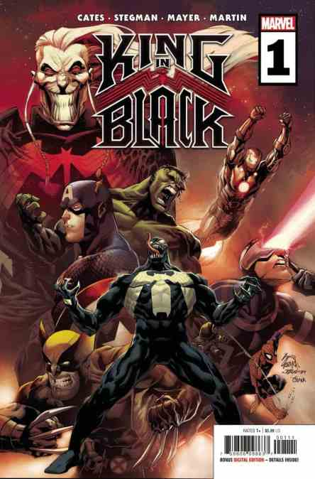 New This Week: BATMAN/CATWOMAN & the KING IN BLACK begin..!