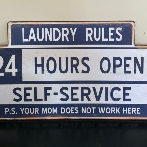 Laundry Open 24 hours