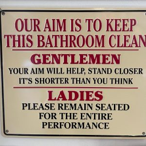 Our aim Sign