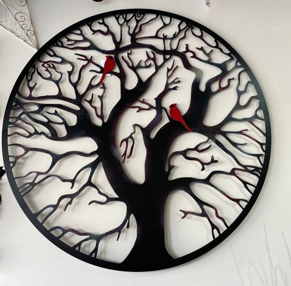 Metal Cardinals on Tree
