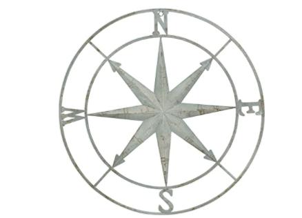 Cream compass