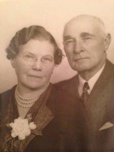 James and Mary Hughan, 1949