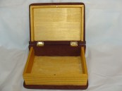 Gold Trimmed Book Box  Price: $15.00