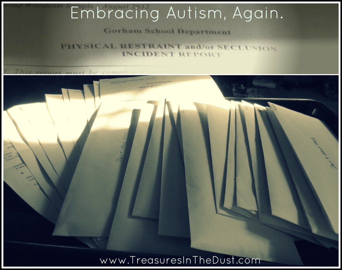 Embracing Autism, Again.
