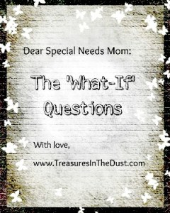 The What-If Questions Letter
