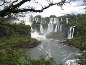 Iguazu Falls in Argentina!