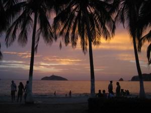 Beautiful sunset in Santa Marta, Colombia!