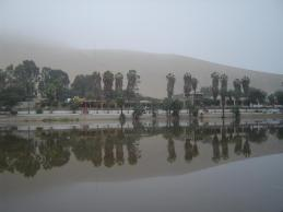 Foggy Morning at the Oasis of Huacachina!