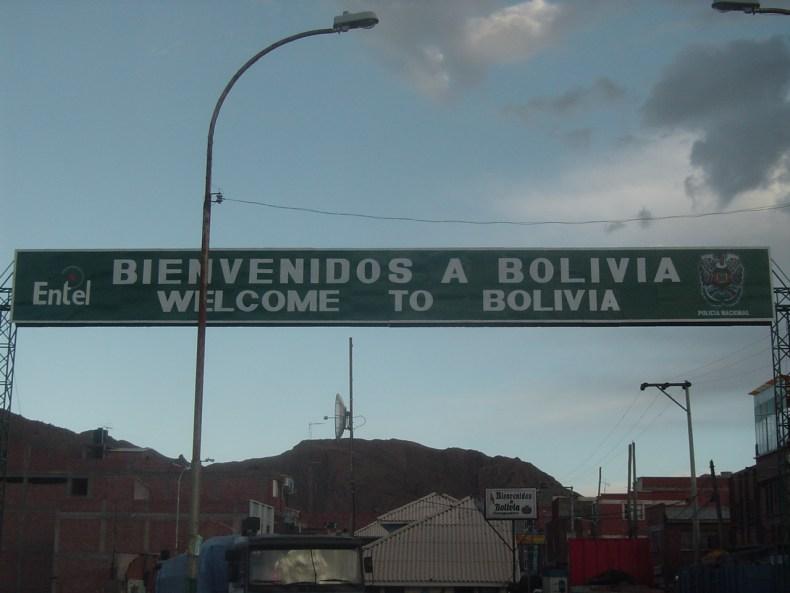 Bienvenidos a Bolivia! Welcome to Bolivia!