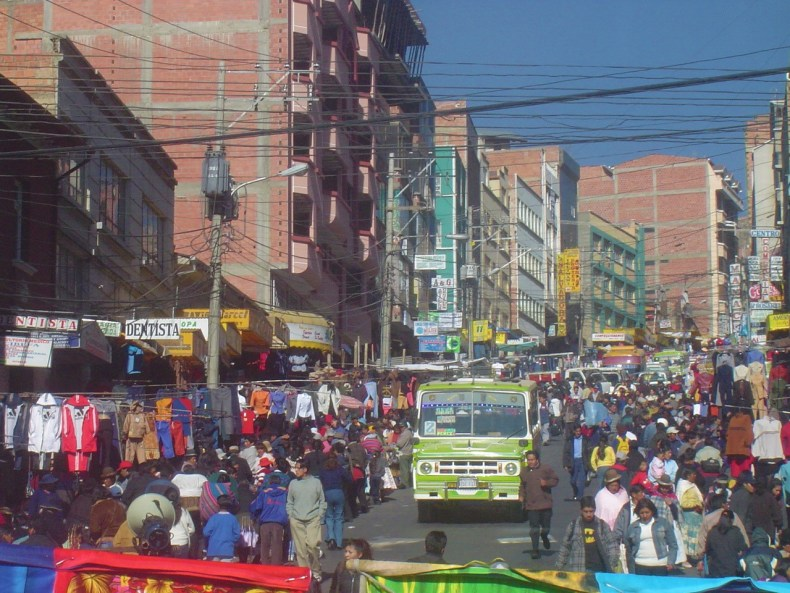 Mercado Rodriguez is the largest market in La Paz!