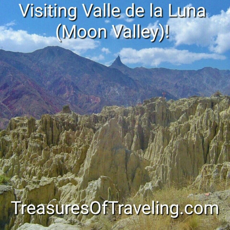 The rock formations of Valle de la Luna showcase an unworldly landscape. Something you might expect to see on the moon; hence the name of the park, Moon Valley in English. This lunar landscape of bizarre geological formations is located only 6 miles away from the city center of LaPaz! Bolivia & SouthAmerica are filled with many #TreasuresOfTraveling.