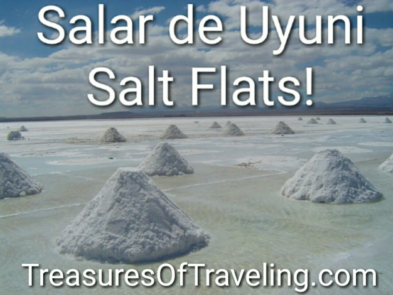 The #Uyuni #SaltFlats are one of the most incredible vistas on Earth that should not be missed! #Bolivia's #SalarDeUyuni is a beautiful natural wonder and is a must on anyone's travel list so plan your trip with these tips! http://treasuresoftraveling.com/the-uyuni-salt-flats-are-the-largest-in-the-world/