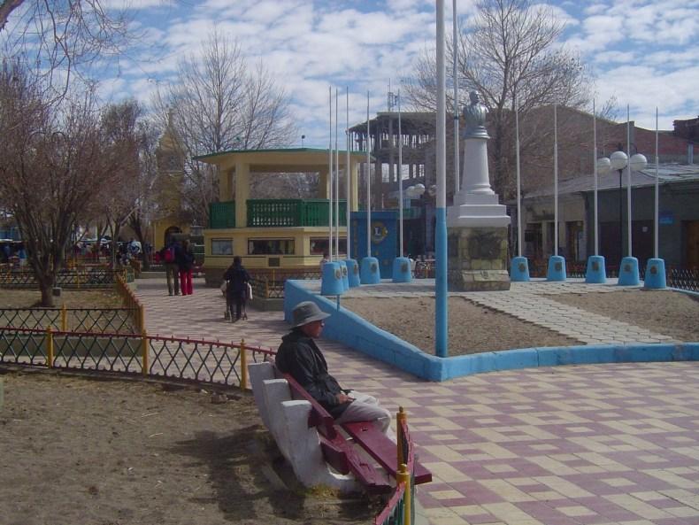 Central Plaza in Uyuni called Park Plaza Arce.