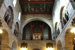 The organ of the Viborg Cathedral.