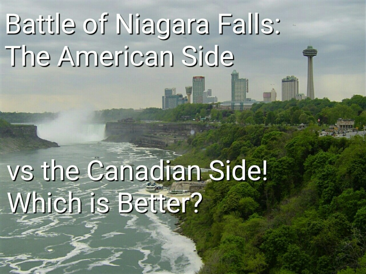 Battle of Niagara Falls: The American Side vs the Canadian Side! Which is Better?