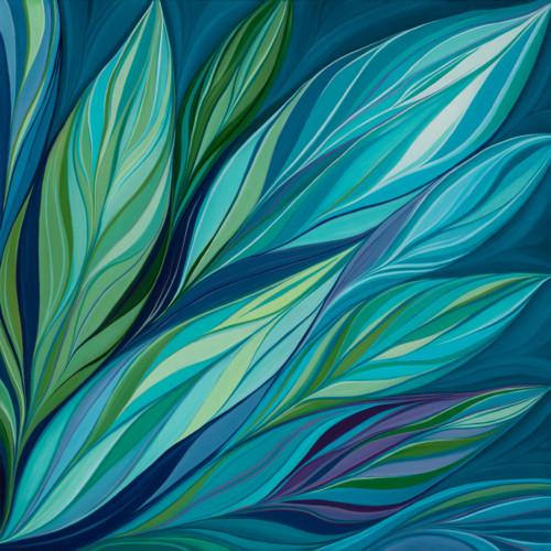 Flourish, painting by Karen Eastman