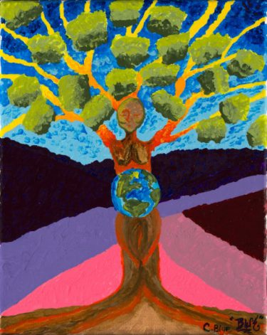 Mother in acrylic-by-Cyndi-Blue-8mb