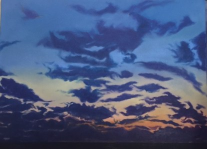 """Dardanelles Dawn"" oil on canvas. 40"" x 44"""