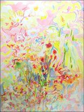 Garden, 22 x 31.5, acrylic on paper