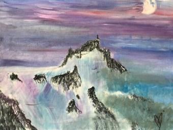 Peace, acrylic on canvas