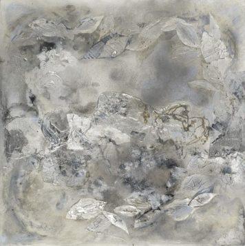 Icelandia, Acrylic/Mixed Media, Gallery Wrapped Canvas