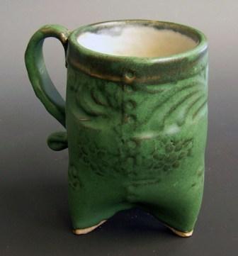 First hand built mug