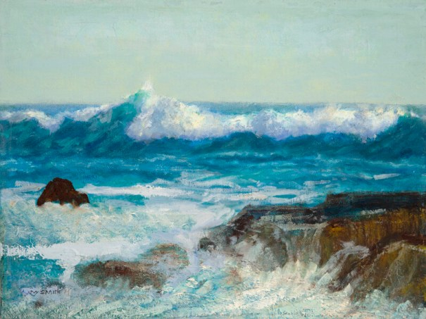 """""""Crescendo at Sea"""", Oil, 12x16"""