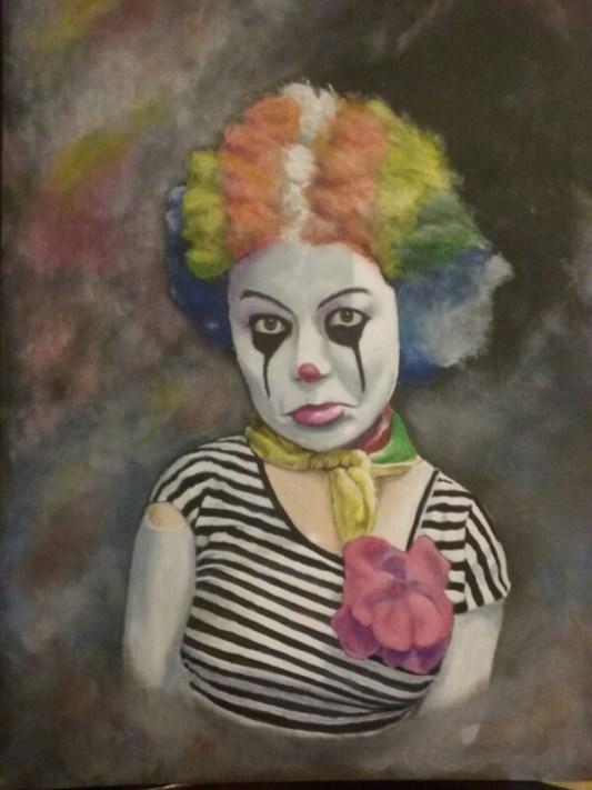 """Sadness"", Acrylic, 18x24"
