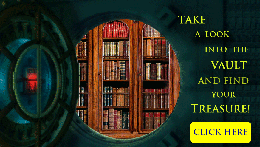 treasure vault bookshop rare and collectible antique books