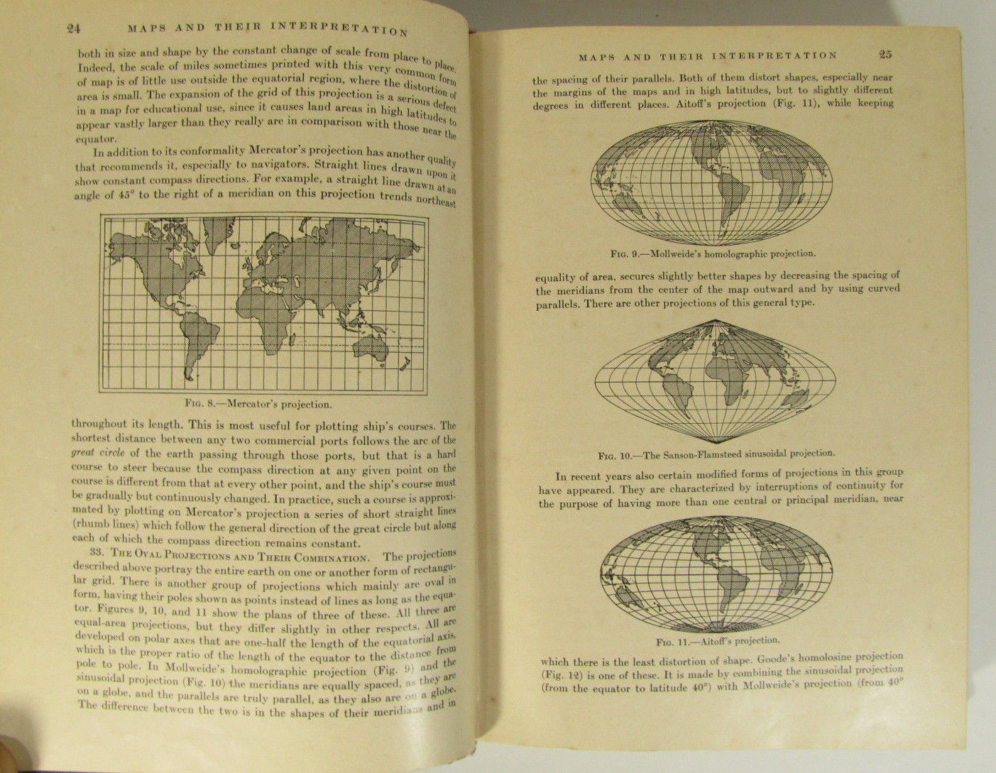 Elements Of Geography with Maps by Vernor C  Finch & Glenn T  Trewartha 1936