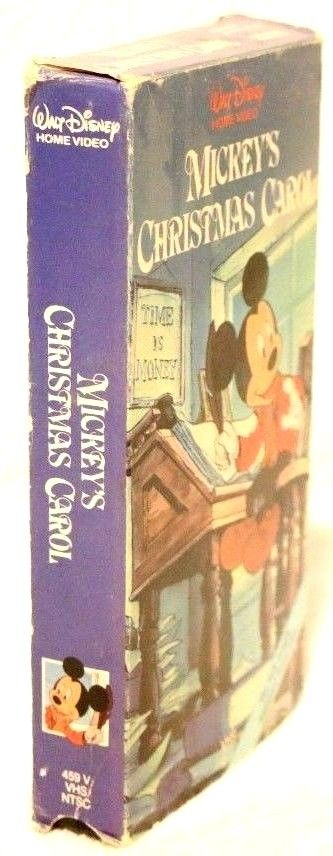 Mickey's Christmas Carol - Classic Disney Christmas Cartoon - Rare VHS 1983 - Treasure Vault ...