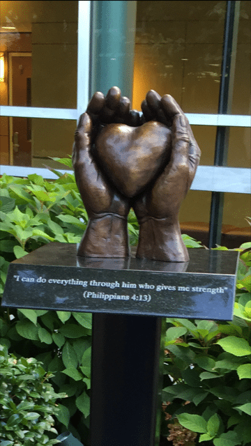statue-for-patients-donated-by-the-youth-group-of-fireside-baptist-church